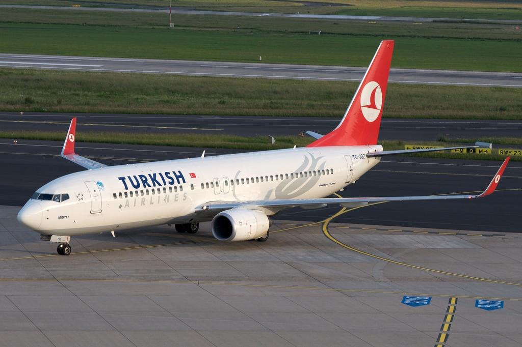 Türk Hava Yolları uçağı Odessa'da pistten çıktı