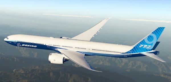 Boeing 777X test uçuşunu tamamladı.