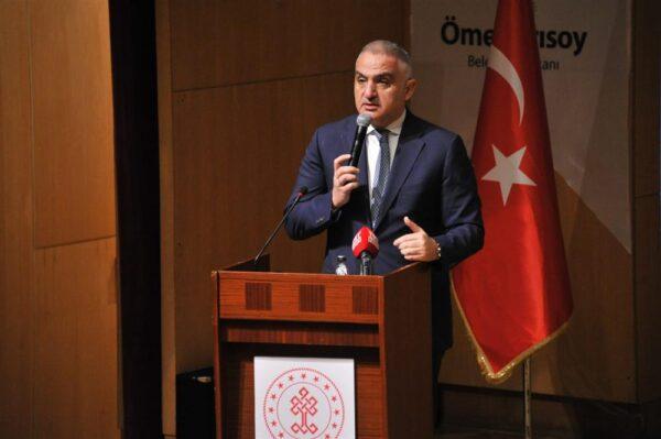 Mehmet Nuri Ersoy turizm ve kültür bakanı