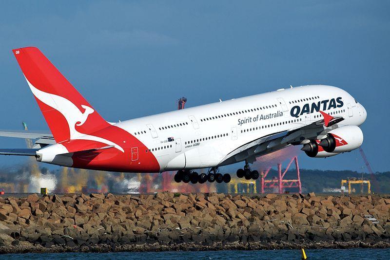 Qantas, dünyanın en güvenli havayolu seçildi.