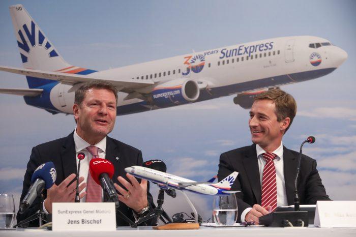 SunExpress'ten rekor gelir: 1,4 Milyar Euro