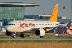 Pegasus, Mart'ta % 44 daha az yolcu taşıdı.