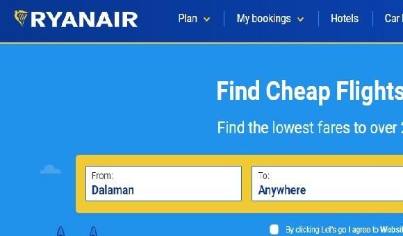 Avrupa Adalet Divanı: Ryanair ücretleri daha açık göstermeli