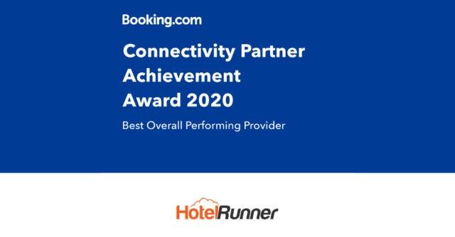 """HotelRunner, Booking.com tarafından """"Dünyanın En İyisi"""" seçildi"""