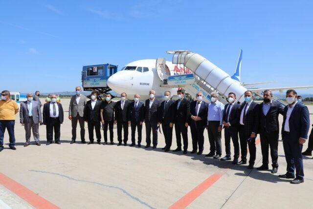 Bursa Yenişehir Havaalanı'nda seferler başladı