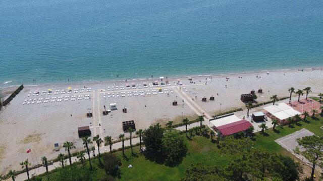 Antalya'daki Sarısu Kadınlar Plajı açılıyor