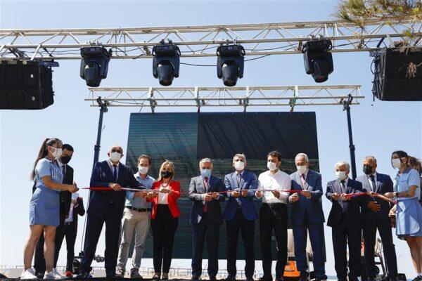Manavgat Halk Plajı Hizmete Açıldı