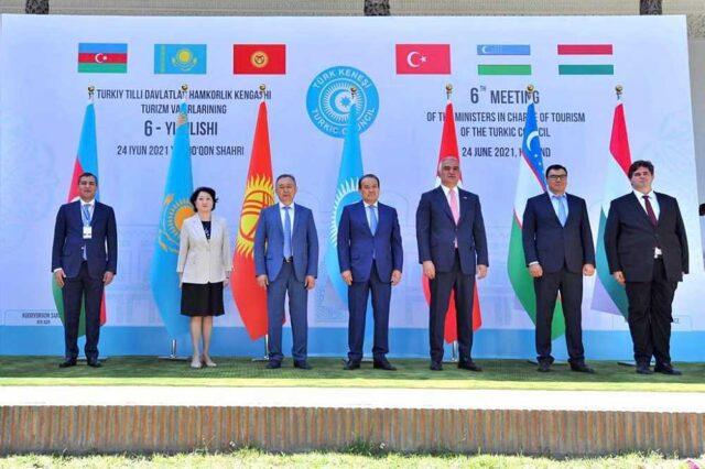 Türk Konseyi Turizm Bakanları 6. Toplantısı Özbekistan'da düzenlendi.
