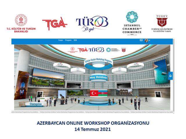 TÜROB, Azerbaycan Acentaları ile Online Workshop düzenliyor