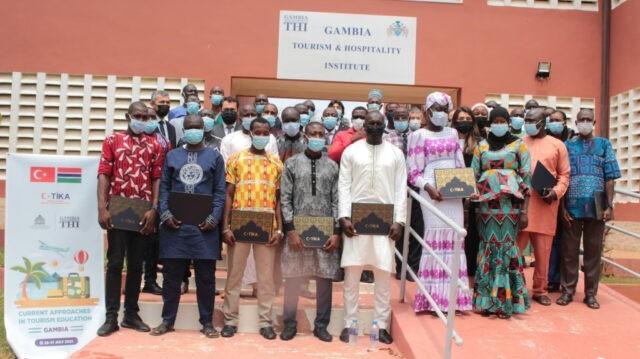 TİKA'dan Gambiya'da Mesleki Turizm Eğitimine Destek