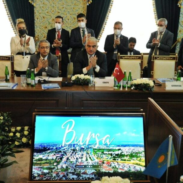 """Bursa """"2022 Türk Dünyası Kültür Başkenti'' Seçildi"""