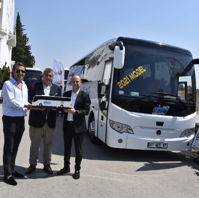 Akay Turizm, TEMSA'dan 3 yeni otobüs teslim aldı
