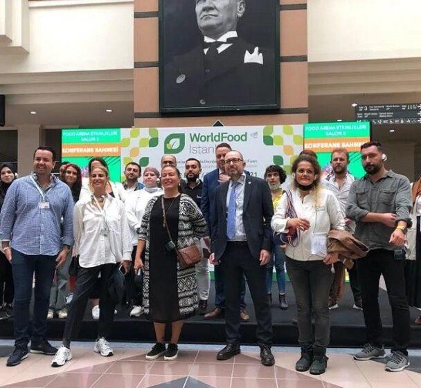 Ünlü Şefler, GTD Koordinasyonunda; World Food İstanbul'da buluştu