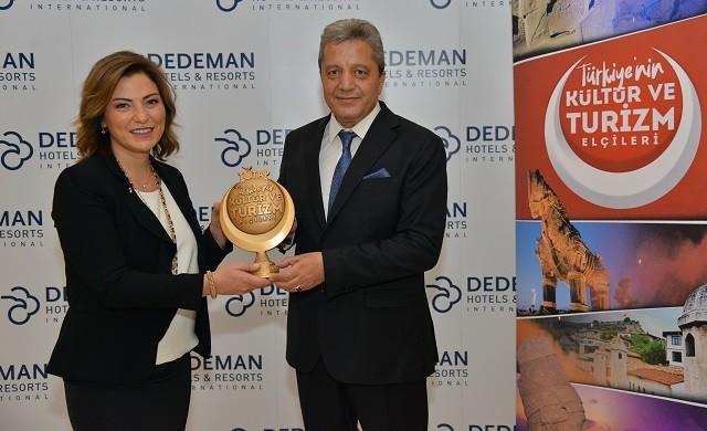 Banu Dedeman'a Türkiye Tanıtma Platformu Ödülü