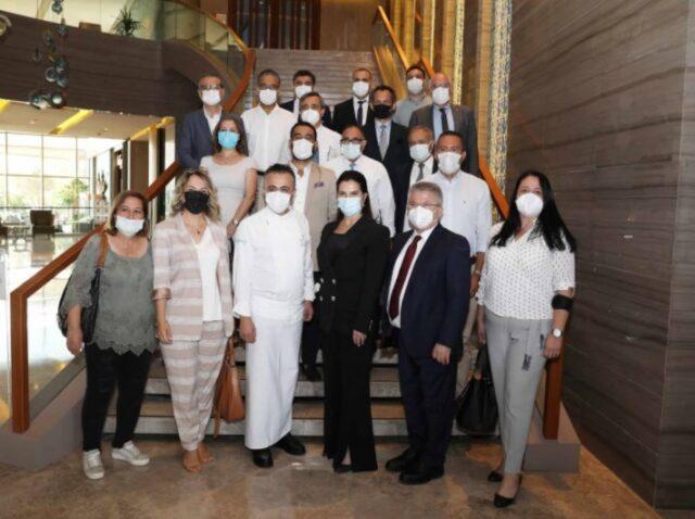 Adanalı Turizmciler, Çukurova Üniversitesi'nde Rektörle Buluştu